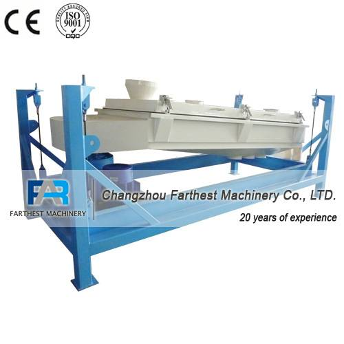 Screener For Animal Feed Pellet