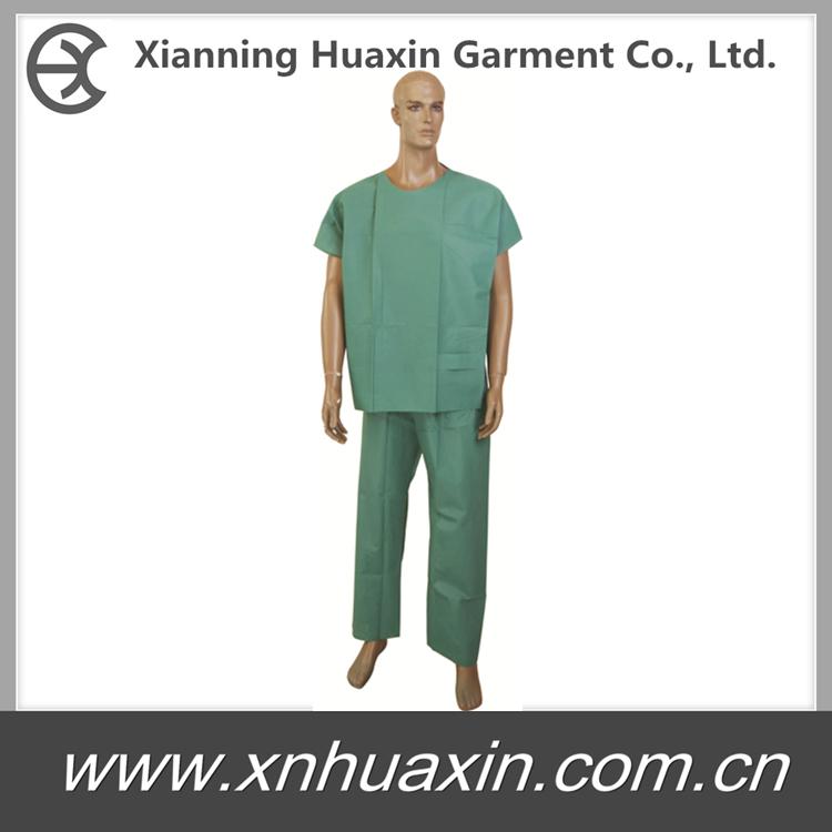HXG-04:Scrub Suit ,Patient Gown