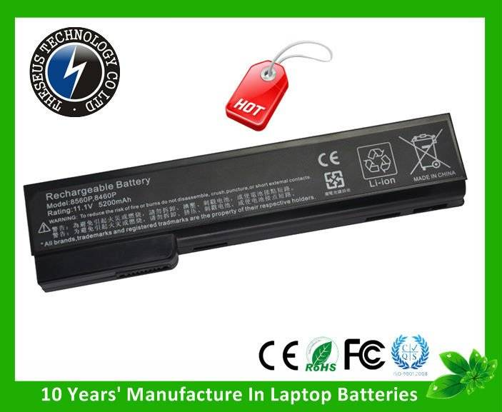 Laptop Battery for HP EliteBook 8460P 8560p ProBook 6360b 6460b 6560b 2012 NEW