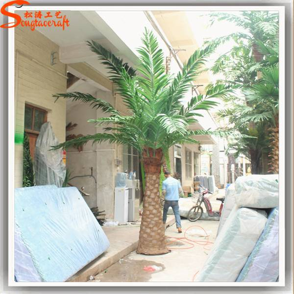 Guangzhou songtao artificial plam tree fiberglass palm tree