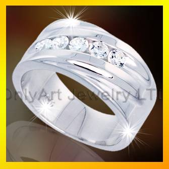2013 hot selling big engagement rings 925 sterling silver ring jewelry