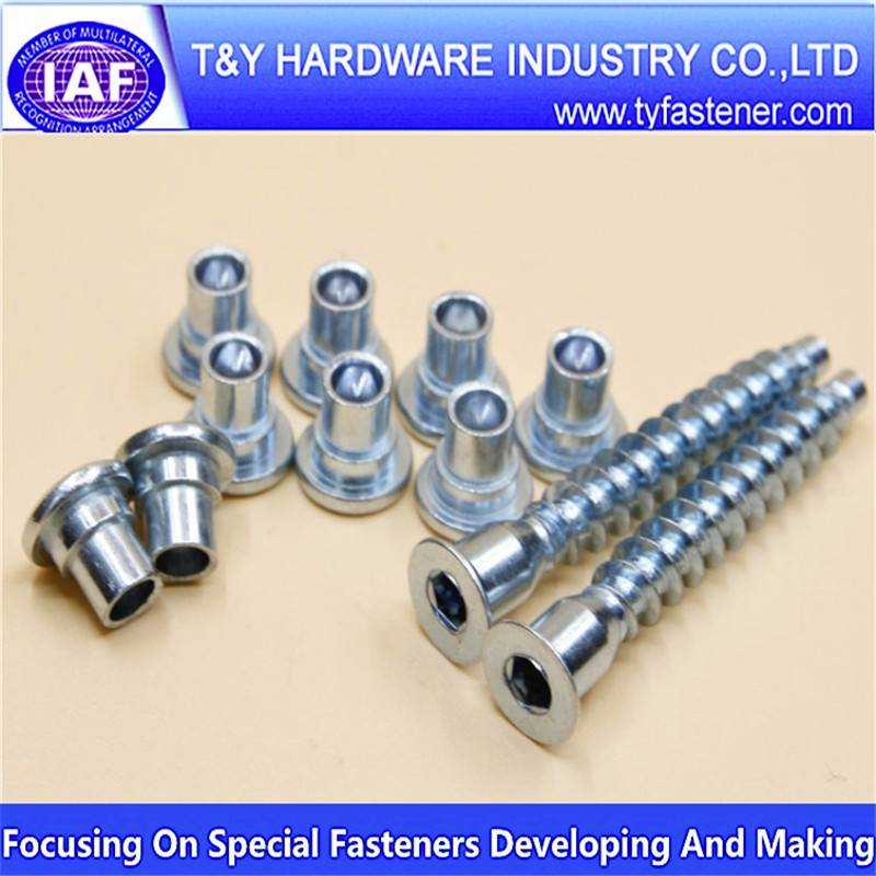 Steel Phillips Hex Head Screw zinc plated