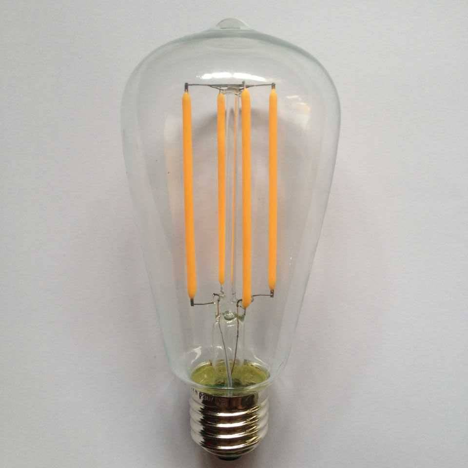 UL cUL ETL approvedlarge squirrel cage led filament ST21/ST64 Edison lamp
