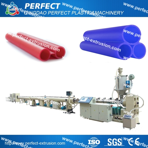 HDPE Electric Communication Cable Pipe Extrusion Machine, Cable Pipe Extrusion Line