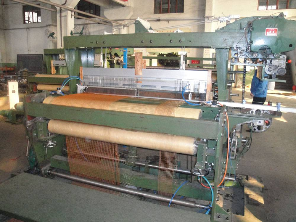 steel cord weaving machine