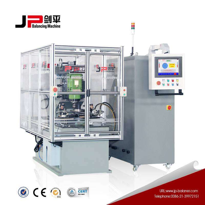 JP High speed automatic balancing machine for small armature