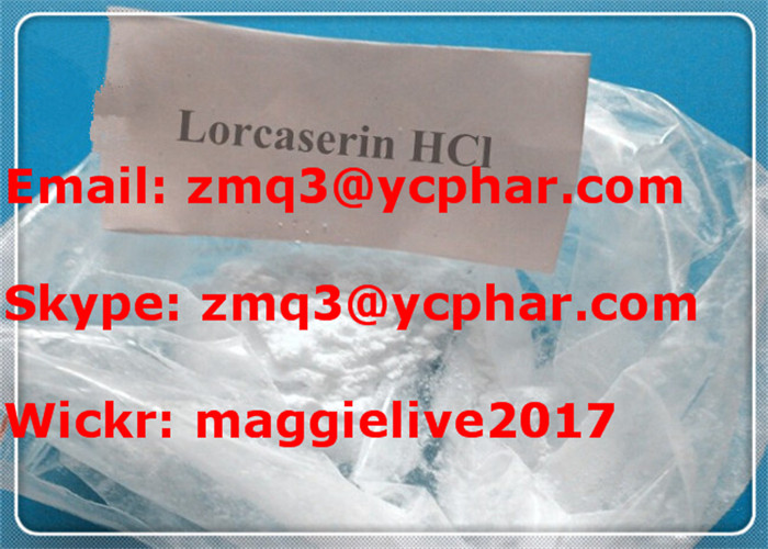 High Purity Lorcaserin HCl Lorcaserin Hydrochloride Promotes Weight Loss with reasonable price and s