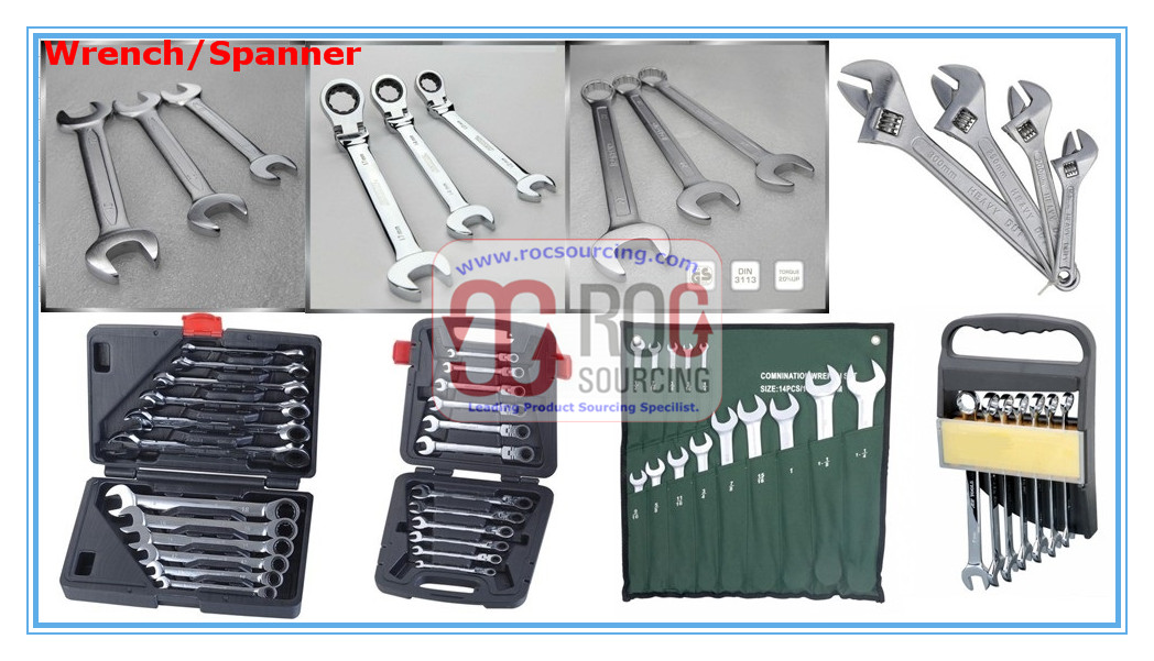 Adjustable Wrench Open end wrench Ratchet Handle Wrench Combination Wrench Allen Key Wrench Other Sp