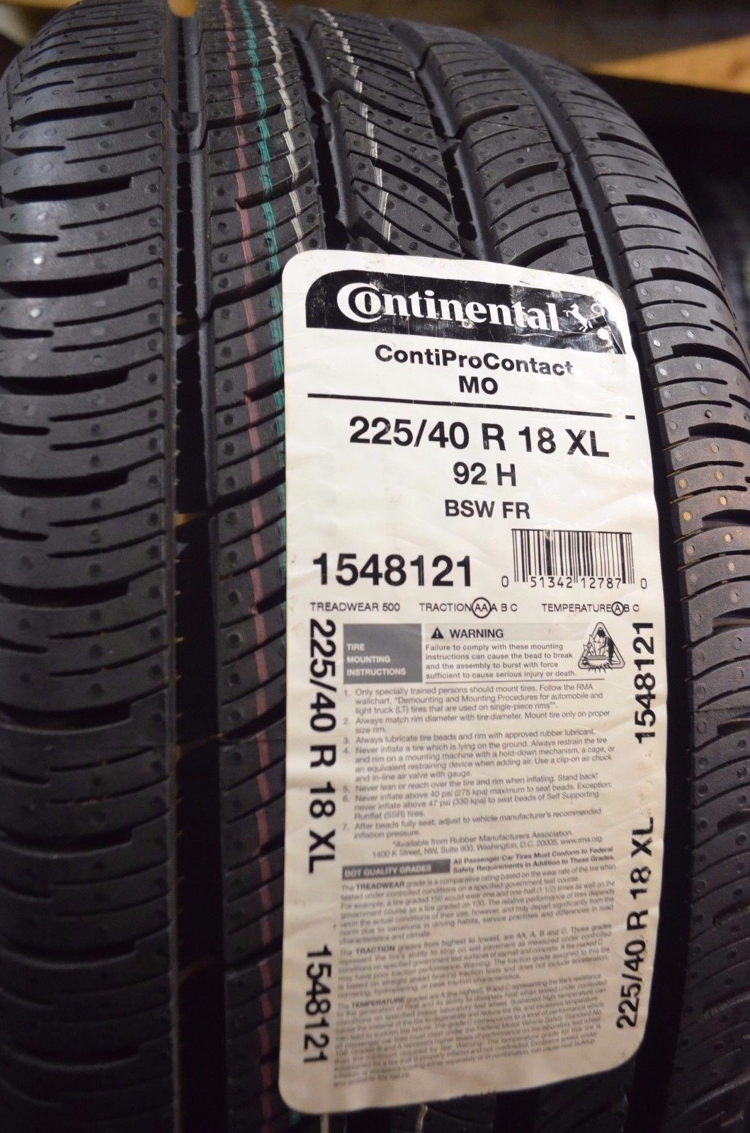 Fairly Used Tires
