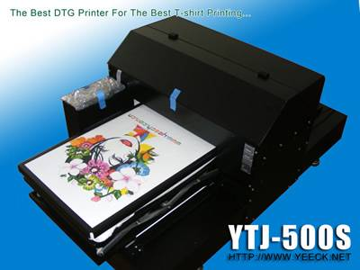 YETEK Digital DTG printer for t-shirt garments printing