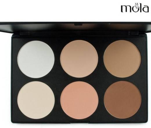 6 Color Make up Contour Palette