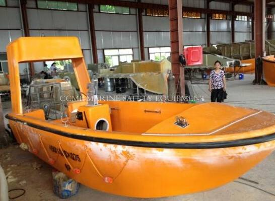 F.R.P. Open type rescue boat/marine lifeboat