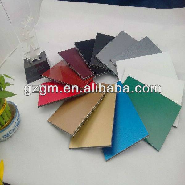 4mm PVDF aluminum composite panel for wall cladding