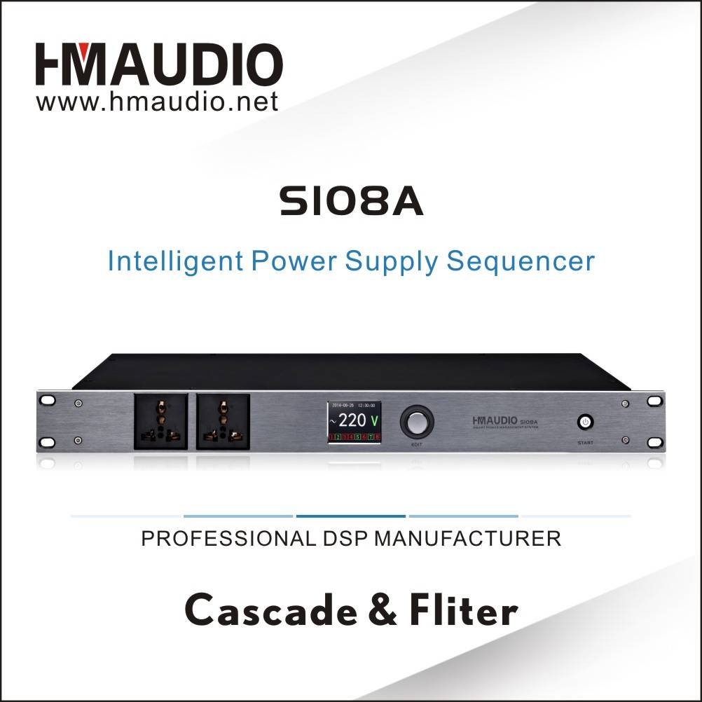Smart Power Supply Power Sequencer(filter) S108A