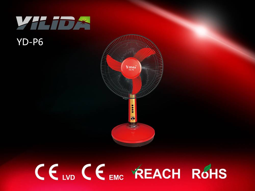 Automatic rechargeable AC/DC fan, electric fan