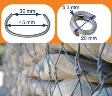 Gabion Fixing C-Rings