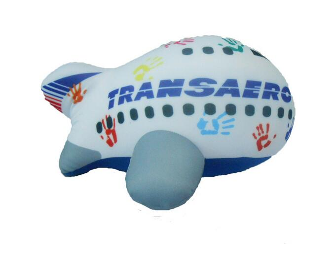 Plush Aircraft Toys U-shaped Neck Pillow