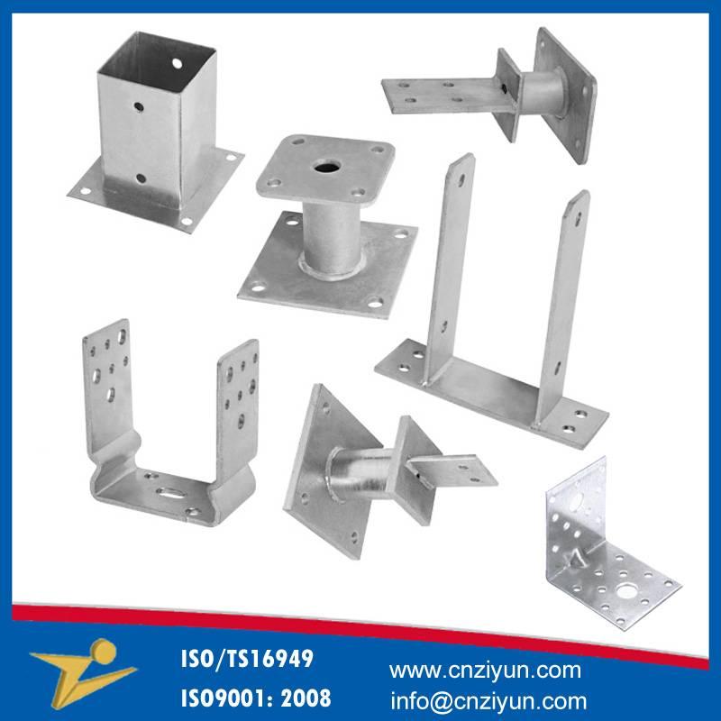 Custom metal bracket fabrication