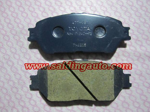 Brake pad for LEXUS TOYOTA OEM 04465-33280
