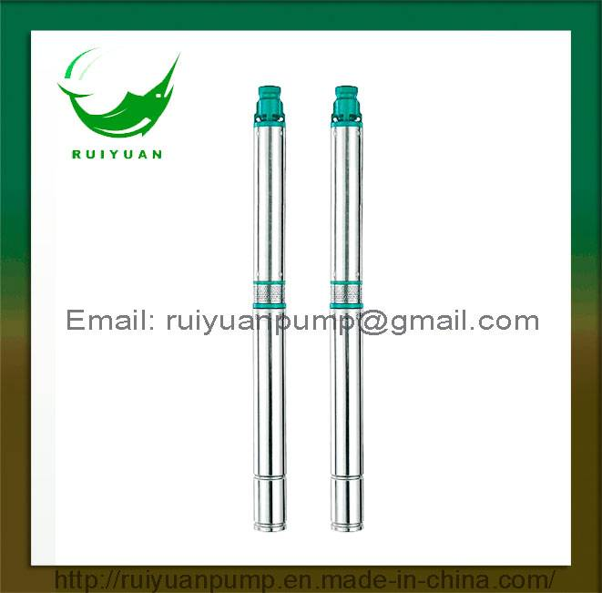 90qjd 1.5HP Copper Wire Stainless Steel Submersible Deep Well Pump Single/Three Phase (90QJD2-12/1.1