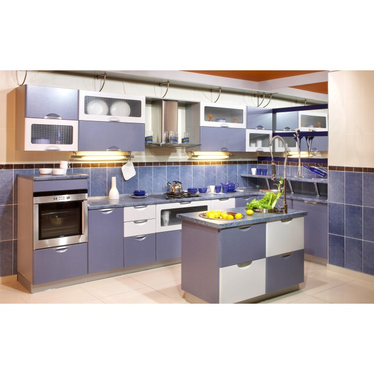 Beautiful color modern style kitchen cabinet K020