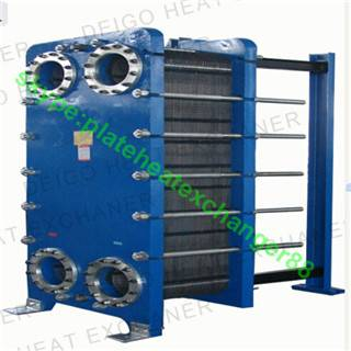 BR0.8 Type of stainless steel plate heat exchangers
