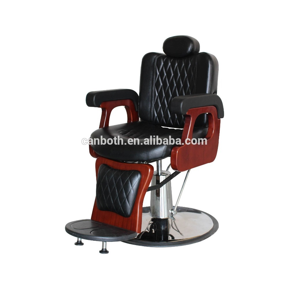 Solid wood barber chair/reline men's barber haircutting salon chair BC-010