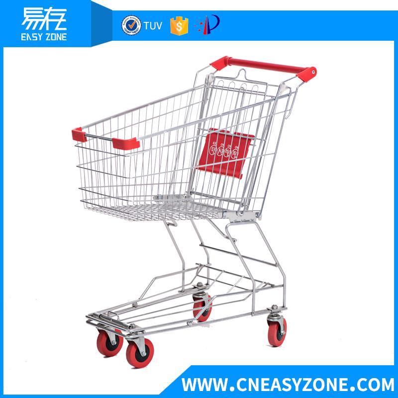 Asia-style supermarket shopping cart