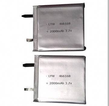 2014 Lithium Polymer Batteries, 2,000mAh Rechargeable High-capacity Replacement for Bluetooth/MP3