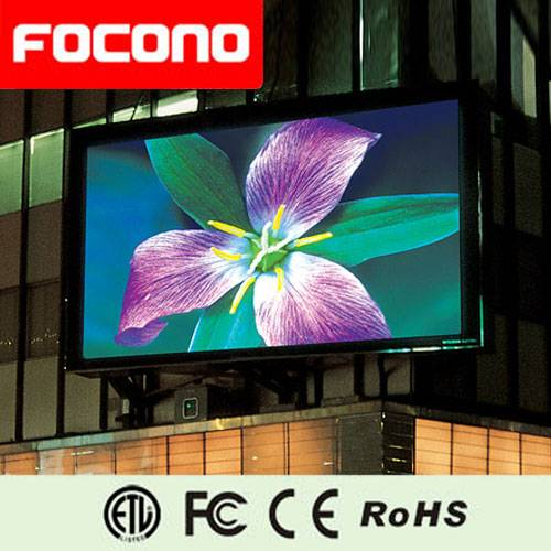 Outdoor Advertising  LED Screen with 8 Years Warranty