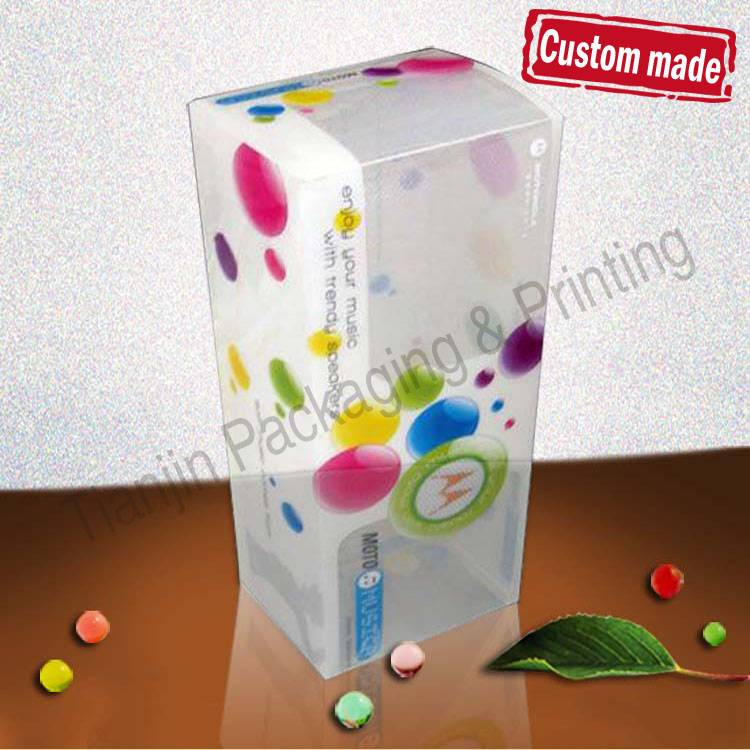 Plastic Frosted Packaging PP Boxes