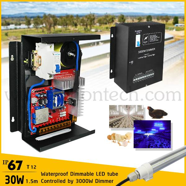 Waterproof dimmable led light poultry farm experts