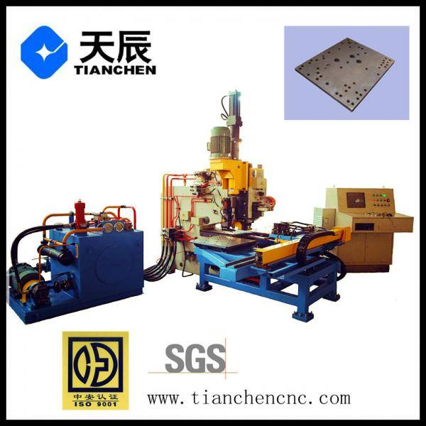 power transmission CNC Hydraulic Plate Drilling, Punching and Marking Machine  Model PPD103