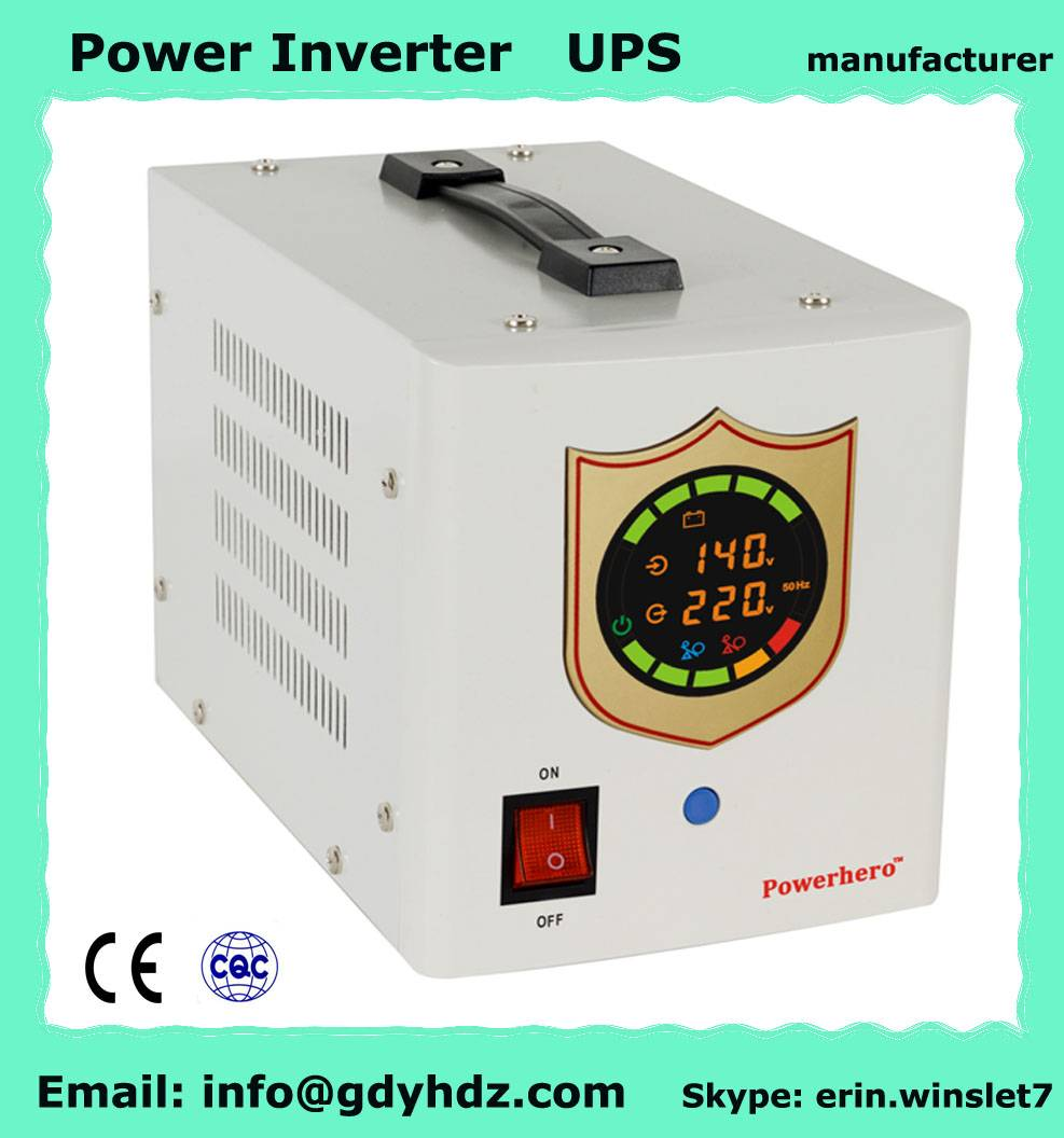 300W pure sine wave power inverter dc to ac inverter UPS with low harmonic distortion