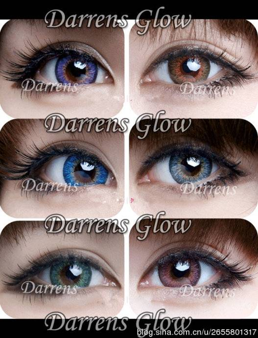 barbie color contact lenses