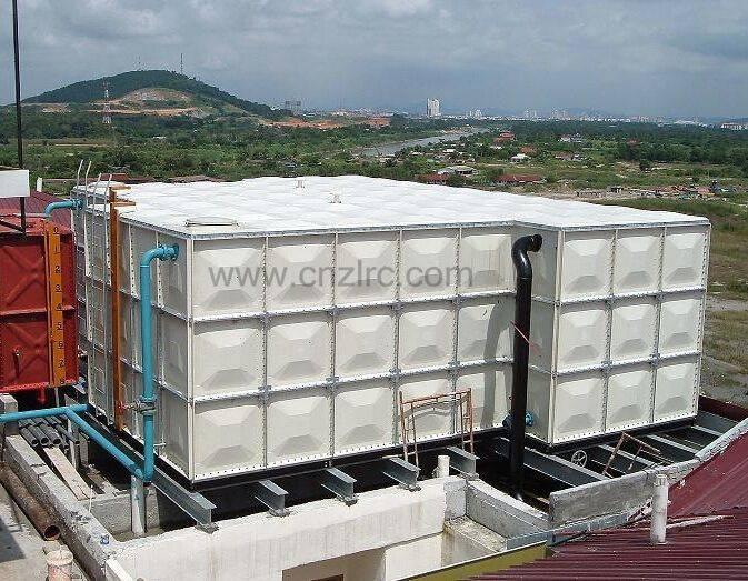 FRP Sectional Water Storage Tank