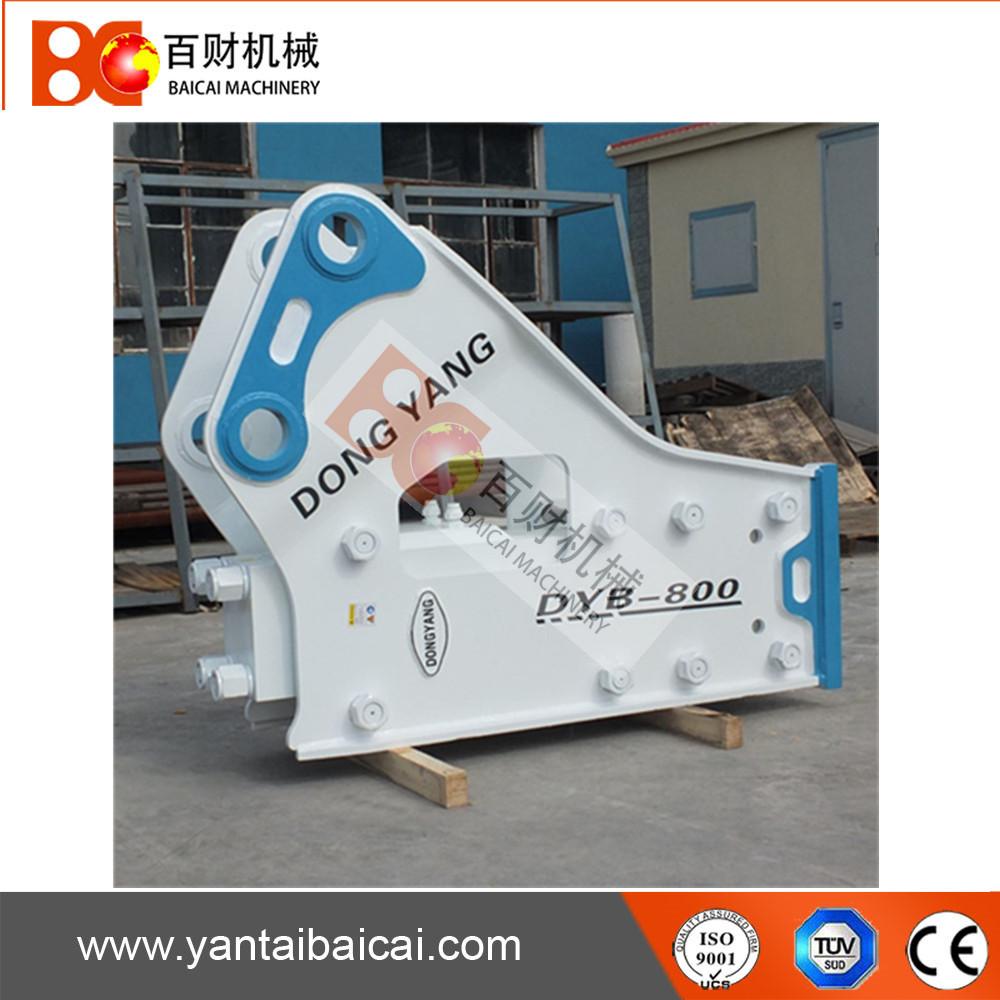 DONGYANG DYB800 excavator hydraulic rock breaker hammer side type