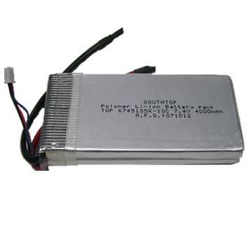 11.1V 4000mAh 10C Li-Poly Battery Pack