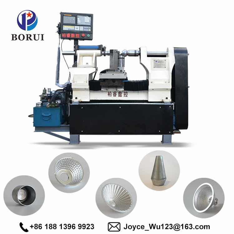 CNC Lathe machine/mini metal lathe/cnc metal spinning machine for lamp cup