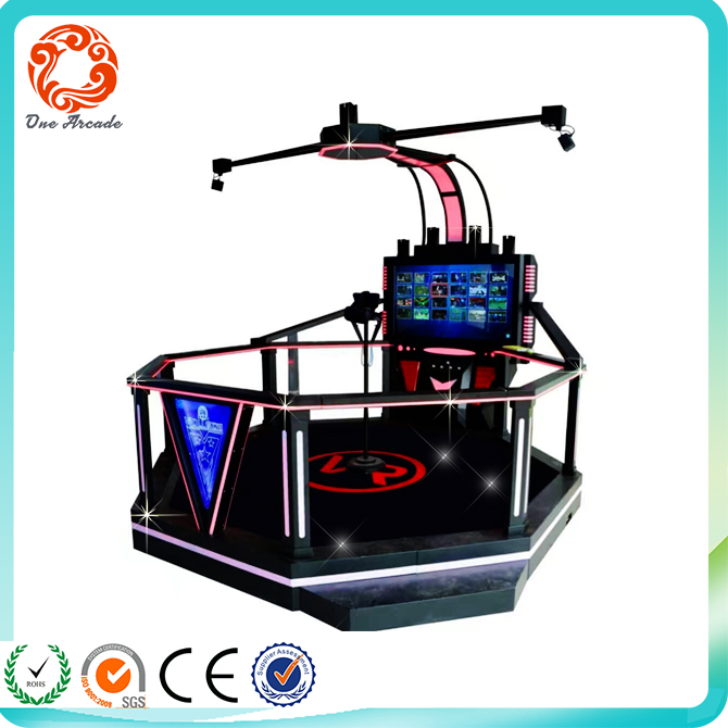 New Arcade Amusement Simulator 9D Virtual Reality Cinema Game Machine