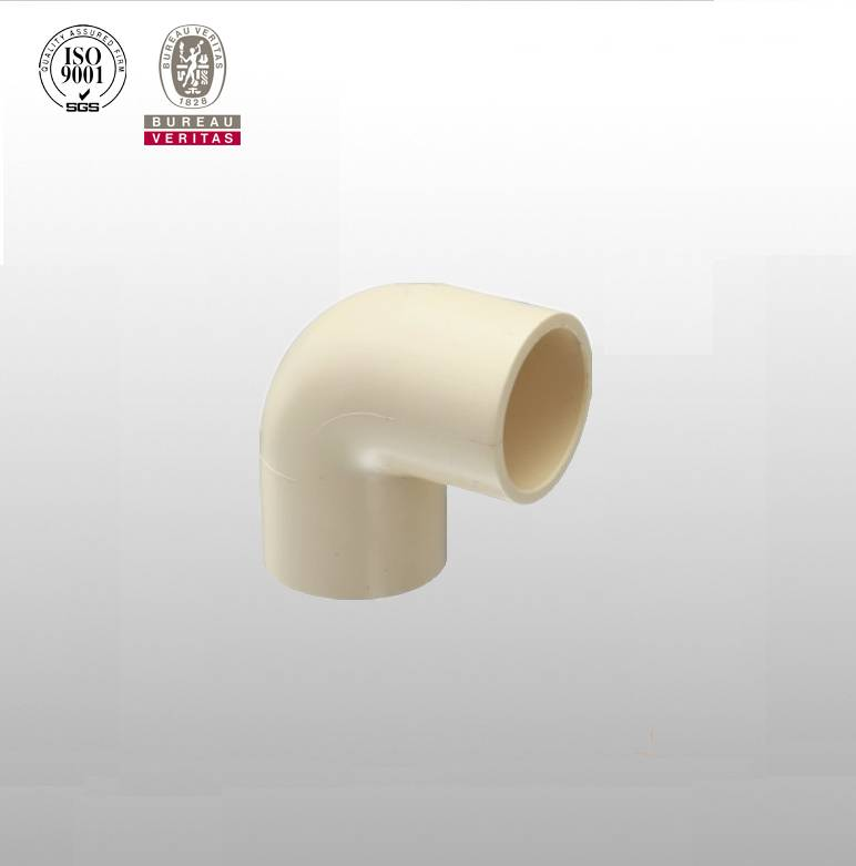 CPVC 90deg Elbow Pipe Fittings China Supplier