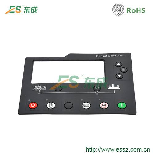 customized laser silicone button genset controller