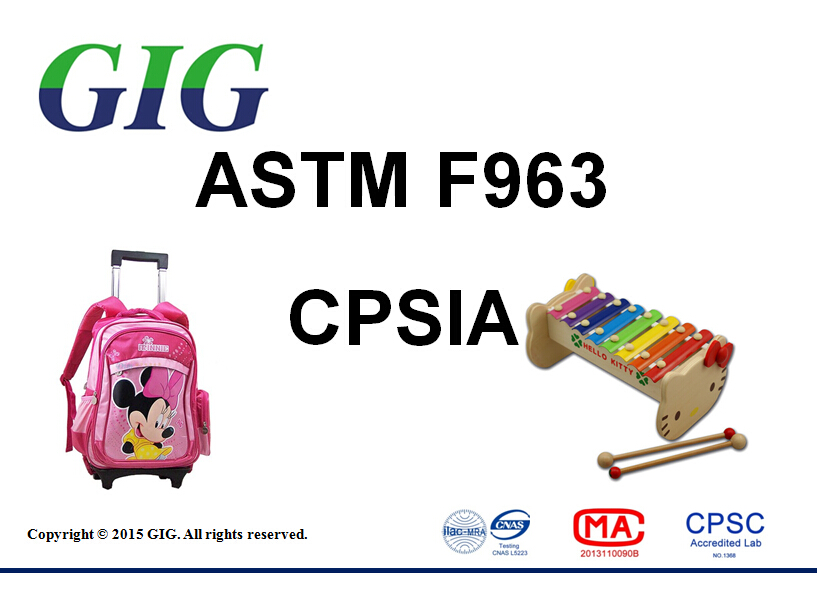 ASTMF963 test service in china