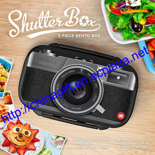 SHUTTER LUNCH BOX