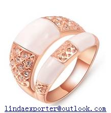 fashion brass AAA cz stone ring