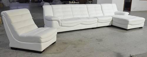 Top Quality genuine leather sofa h141