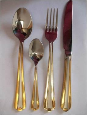 X001 Stainless steel tableware cutlery flatware