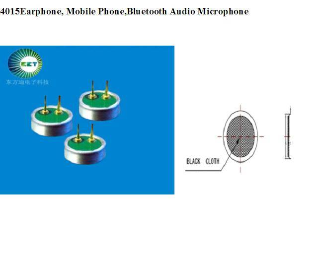4015Earphone, Mobile Phone,Bluetooth Audio Microphone