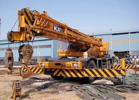 KATO KR-45H-V 45T used truck mounted crane for sale