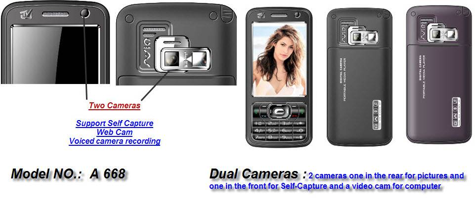 Mobile Phone A668 band dual sim card dual standby,n99I,A968,A618,A668,A008,A1000,A5000 low price TV